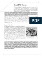 History of the Special Air Service