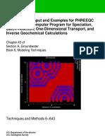 Phreeqc 3 2013 Manual