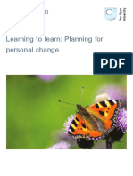 Learning to Learn Planning for Personal Change Printable