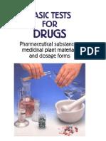 Basic test for drug