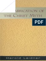 Leidner Harold the Fabrication of the Christ Myth