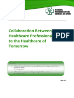 Collaboration Between Healthcare Professionals