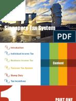 Singapore Tax System