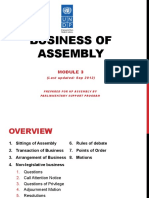 Module 3-Business of Assembly