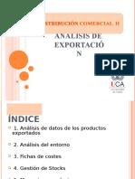 Análisis de Exportación