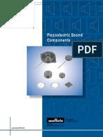 p37e Piezoelectric Datasheet
