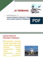 Pertemuan-3 Karakteristik Pesawat