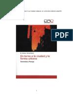 Extracto en Torno a La Ciudad y La Forma Urbana. Sociedad y Paisaje, Saarbrücken, Editorial Académica Española, Isbn 978-3-8484-6299-5