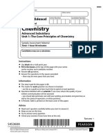 June 2014 (IAL) QP - Unit 1 Edexcel Chemistry
