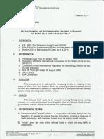 PH Department of Transportation Department Order No. 2017-002