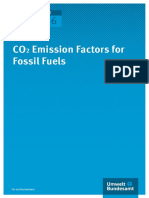 Co2 Emission Factors for Fossil Fuels Correction
