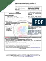 4-PROGRAMACIÓN CCP TEC I CLASE 4 SALSAS MADRES Y DERIVADAS 2° PARTE