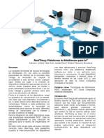 RestThing Plataforma de Middleware Para IoT
