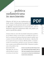 Geopolitic a Sudamerica