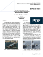 The Behaviour of Tugs in Waves Assisting LNG Carrier