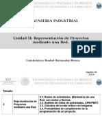 Unidad II - representacion de un proyecto mediante una red