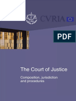 Composition_jurisdiction_procedures_the Court of Justice of Eu