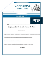 2017 05 28 Discursiva Carreiras Fiscais Auditor