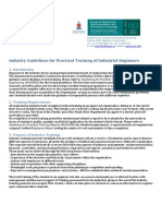 Industry Guidelines for Practical Training Ie Students 2016.Zp83626