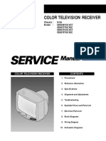 Samsung Crt Tv Manual - CB5038