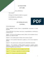 2.Ley General de Salud