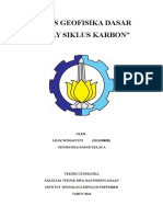 Lilik Widiastuti 3513100009 Siklus Karbon Geofisika Dasar
