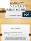 Community Mental Health Nursing CMHN