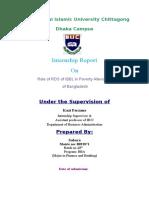 Internship Report IIUC