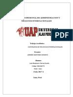 Trabajo Académico de Contratos de Negocios Internacionales