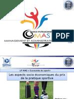 Les Aspects Socio-économiques Du Prix de La Pratique Sportive