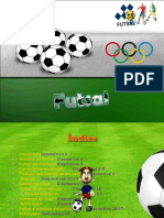 Trabalho EF - Futsal