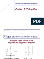 Common Emitter amplifier lecture