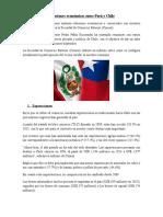 Relaciones Económicas Entre Perú y Chile