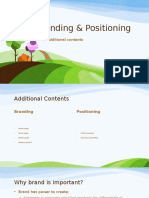 Class 3.1 - Branding - Positioning