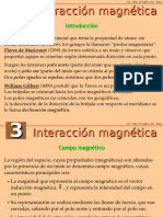 interaccion magnetica