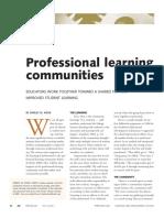 professional communities hord2009