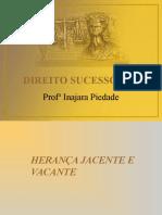 Heranca Jacente e Vacante