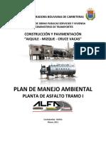 Plan de Manejo Ambiental - Planta de Asfalto (Mizque - Aiquile)
