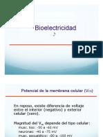 bioelectricidad membrana