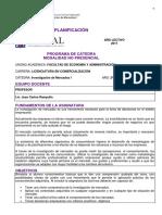 Prog Investigacion Mercados 1 RAMPULLA