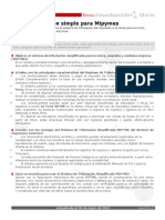 Ficha Tributacion Simple Para-mipymes
