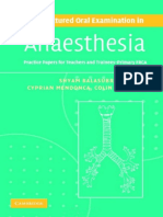Balasubramanian, Mendonca, Pinnock - The Structured Oral Examination in Anaesthesia  2006.pdf