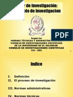 Taller de Investigacion UES