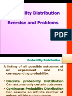 Probabiliy Distribution