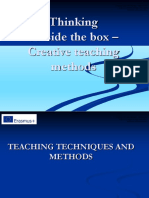 Thinking Outside the Box Creative Teaching Methods