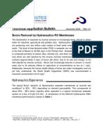 Hydranautics TAB113 L Suggestions