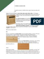 Tipos de Madera Que Se Utiliza en Construcción
