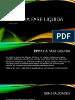 Epitaxia Fase Liquida