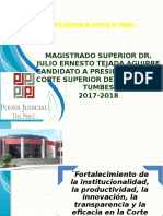 Magistrado Superior Dr