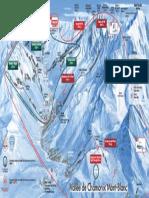 Plan Vallee Chamonix Hiver